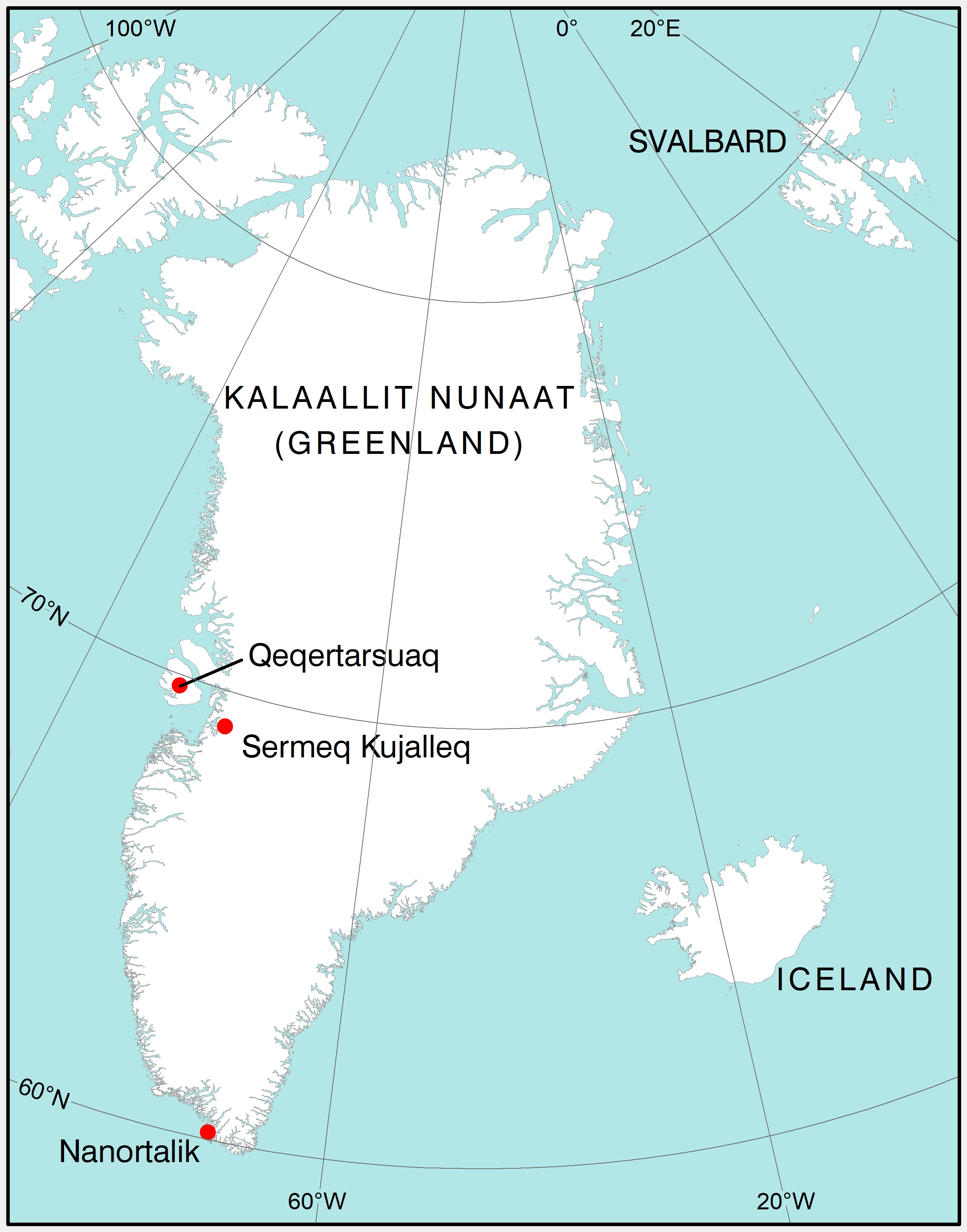 Greenlandic Place-names